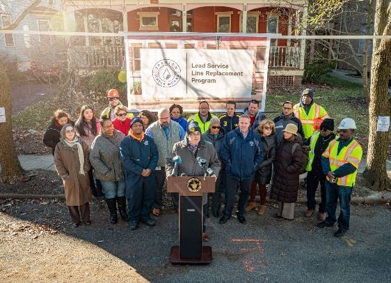 Mayor Kicks Off Lead Service Line Replacement Program