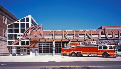 Trenton Fire Department  & Truck