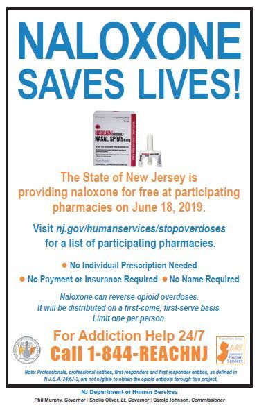 Naloxone Flyer - English